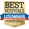 US News Best Hospitals Honor Roll 2020-21